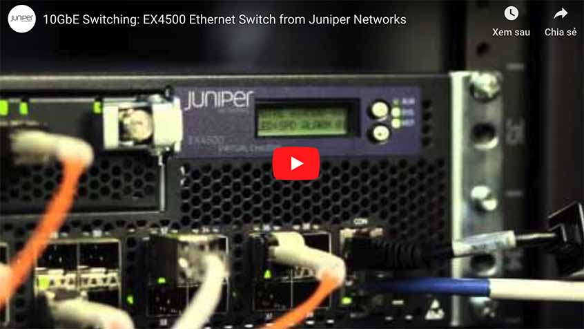 Juniper EX3400 | Review Switch Juniper EX3400 chính hãng