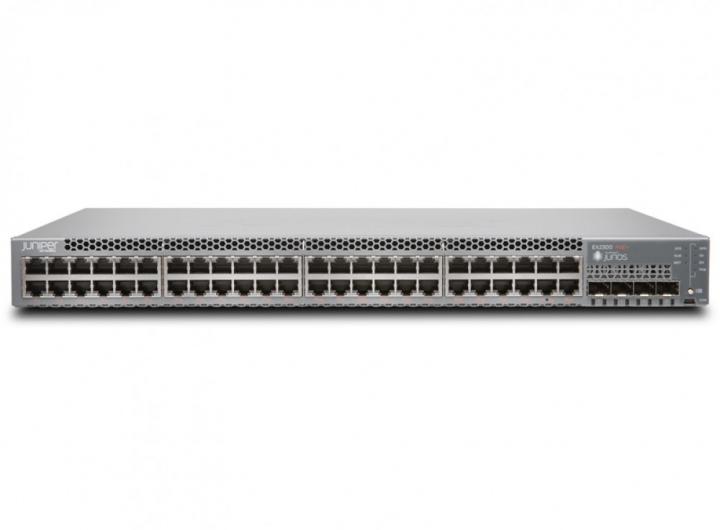 Phân phối EX2300-48P Juniper EX2300 48-port 10/100/1000BaseT PoE+ Ethernet Switch with 4 SFP/SFP+ uplink ports