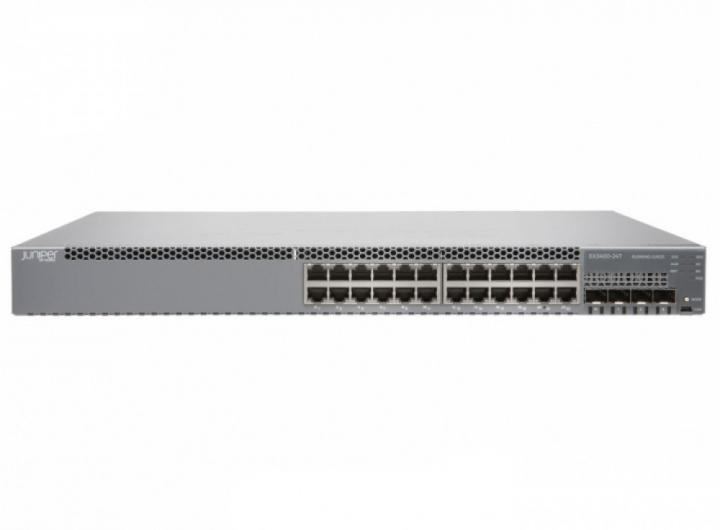 Juniper EX3400-24T-TAA 24 Port 10/100/1000BASE-T, 4 x 1/10GbE SFP+, 2 x 40GbE QSFP+ chính hãng